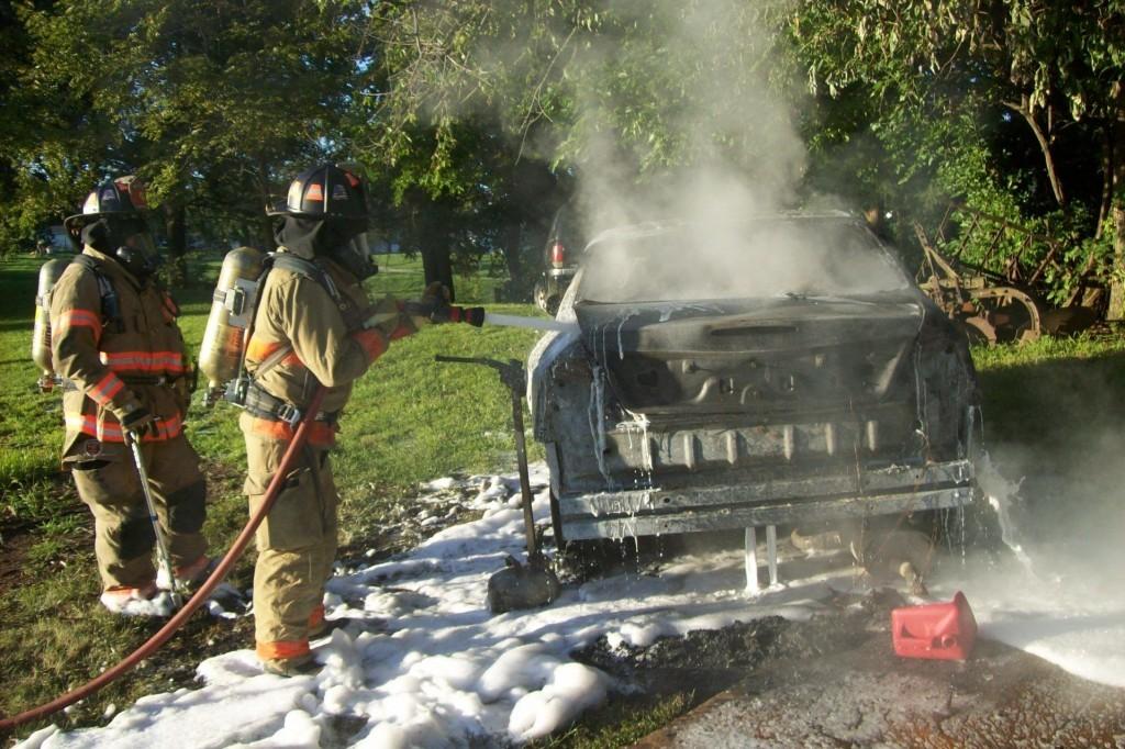 Car Fire 1725 Main August 22nd, 2017